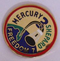 Mercury 3 Lapel Pin